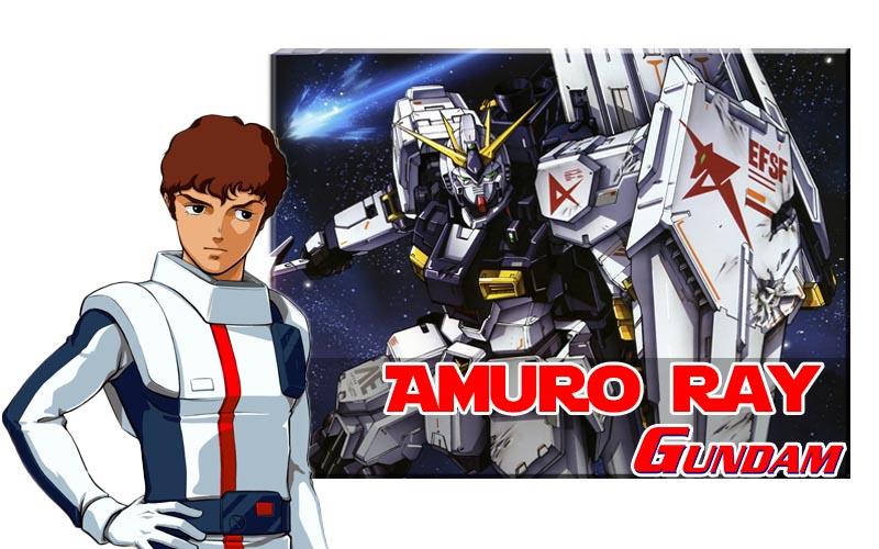 Amuro Ray เทพหยิกแห่ง Gundam