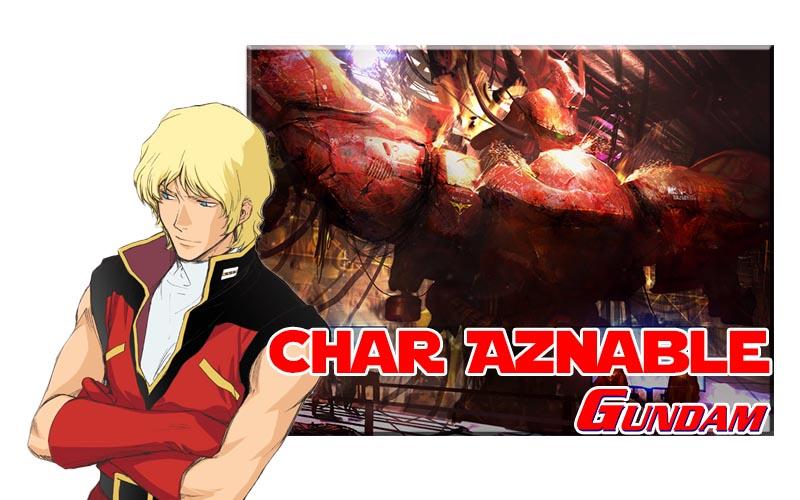 Char Aznable ดาวหางสีแดงแห่ง Gundam